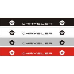 Bandeau pare soleil Chrysler 1 - 130 cm x 15 cm