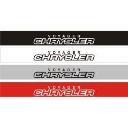Bandeau pare soleil Chrysler Voyager 2 - 130 cm x 15 cm