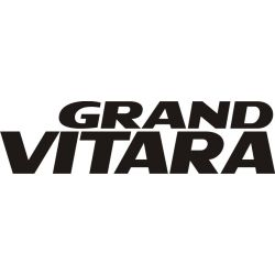 Sticker Suzuki Grand Vitara - Taille et Coloris au choix