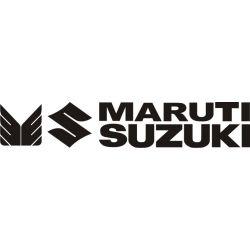 Sticker Suzuki Maruti - Taille et Coloris au choix