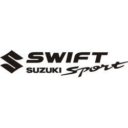 Autocollant Suzuki Swift Sport - Taille et Coloris au choix