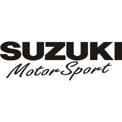 Sticker Suzuki Motor Sport 1 - Taille et Coloris au choix