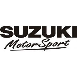 Sticker Suzuki Motor Sport 2 - Taille et Coloris au choix