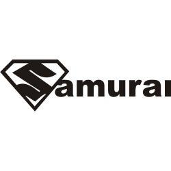 Sticker Suzuki Samurai 1 - Taille et Coloris au choix