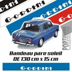 Bandeau pare soleil Renault Gordini 4