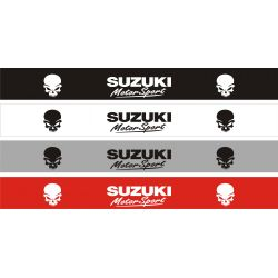 Bandeau pare soleil Suzuki MotorsSport 5 - 130 cm x 15 cm