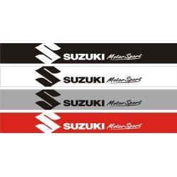 Bandeau pare soleil Suzuki MotorSport 7 - 130 cm x 15 cm
