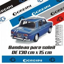 Bandeau pare soleil Renault Gordini 5