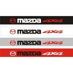 Bandeau pare soleil Mazda 4x4 - 130 cm x 15 cm