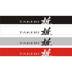 Bandeau pare soleil Mazda Takeri - 130 cm x 15 cm