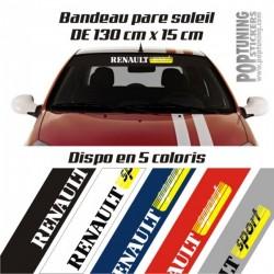 Bandeau pare soleil Renault Sport 31