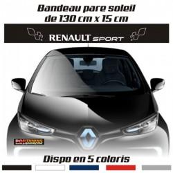 Bandeau pare soleil Renault Sport 33