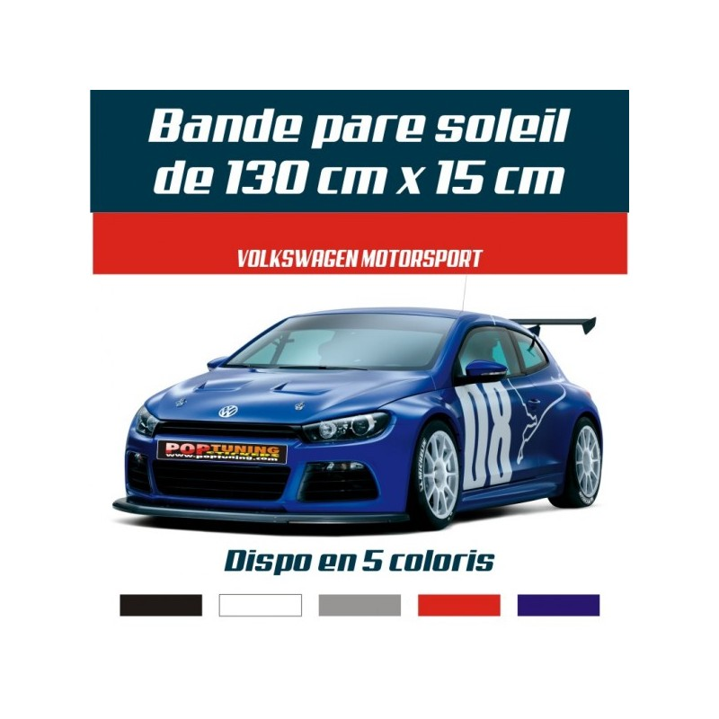 Bandeau pare soleil Volkswagen Motorsport 31