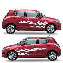 Stickers Tuning pour voiture - 2 côtés - modèle 0054