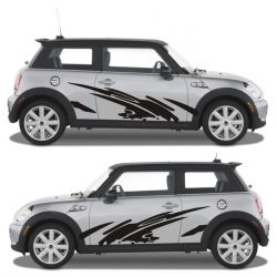 Stickers voiture tuning pas cher - 2 côtés - modèle 0060