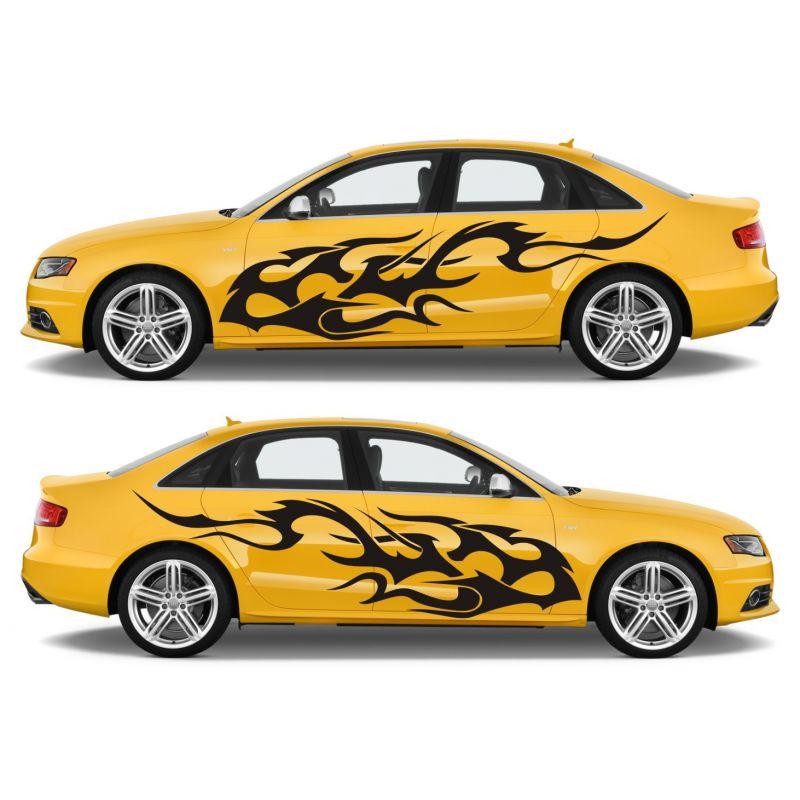 Motifs voiture tuning pas cher 2 c t s mod le 0062 - Image de voiture tuning ...
