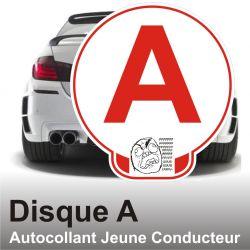 Disque A personnalisé - Autocollant Jeune Conducteur Fu.k