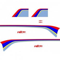 Kit Déco adhésif pour Peugeot 106 Rallye