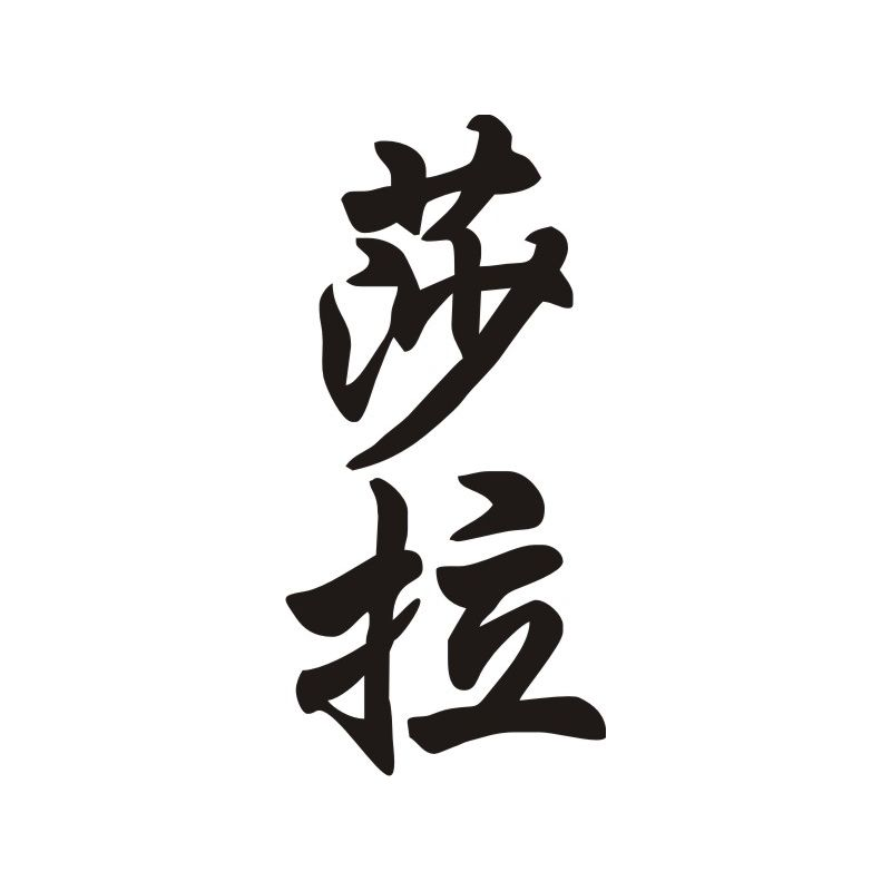 Sarah Sticker Prénom En Chinois