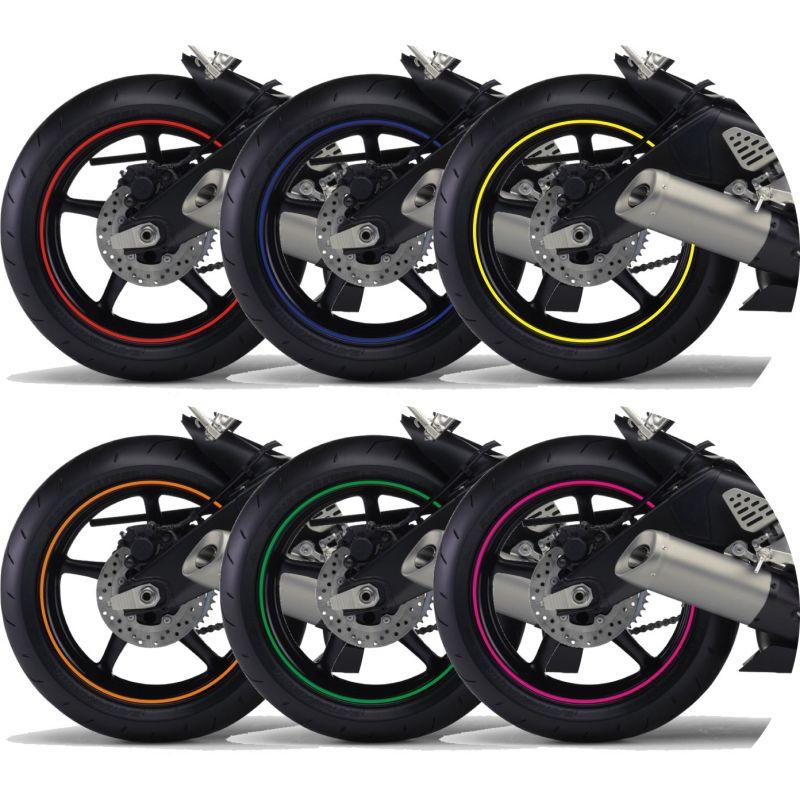 kit liseret jante de moto coloris au choix 5. Black Bedroom Furniture Sets. Home Design Ideas