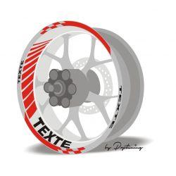 Liseret jante moto Racing 2
