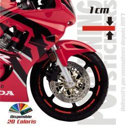 Liseret jante moto Racing 3