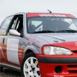 2 Fonds numéro de course FFSA 70x50cm pour véhicule de rallye