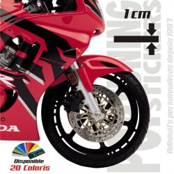 Liseret jante moto Racing 4