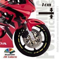Liseret jante moto Racing 5