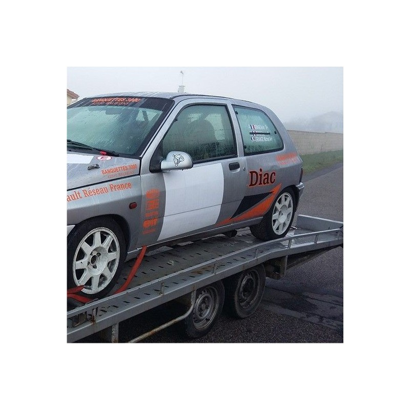 Fond Numéro de Course Carré pour véhicule de rallye