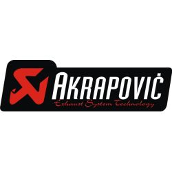 Sticker Moto GP - Sponsors - Akrapovic 3