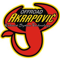 Sticker Moto GP - Sponsors - Akrapovic 5