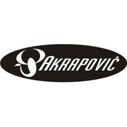 Sticker Moto GP - Sponsors - Akrapovic 8