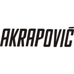 Sticker Moto GP - Sponsors - Akrapovic 10