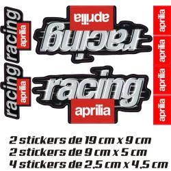 Aprilia Pack Stickers 2 - Autocollants Moto Aprilia