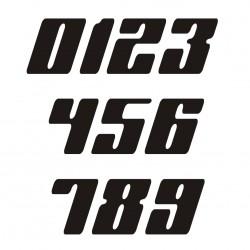 1 numéro de course modele 48 - Rallye