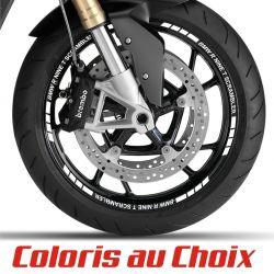BMW R NINE T SCRAMBLER Stickers pour jante 1 coloris