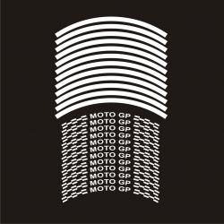 Stickers de jantes MOTO GP - Coloris au choix