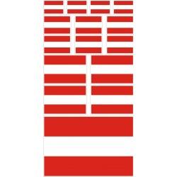stickers drapeau autriche