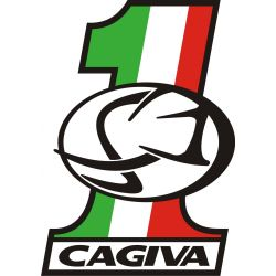Sticker Cagiva Redesigned 37
