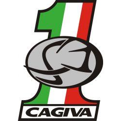 Sticker Cagiva Redesigned 38