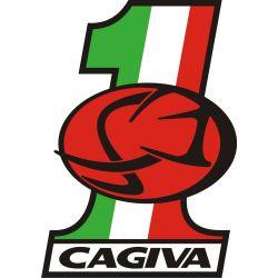 Sticker Cagiva Redesigned 40