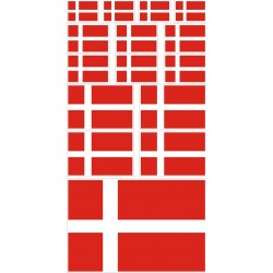 stickers drapeau Danemark