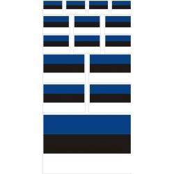stickers drapeau Estonie