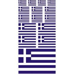 stickers drapeau Grèce
