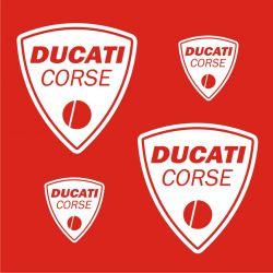 Ducati Stickers - Planche Autocollants 47