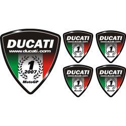 Ducati MotoGP Stickers - Planche Autocollants 50