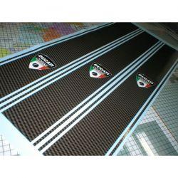 Ducati Corse Stickers Carbone - Bandes 51