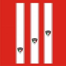 Bandes Ducati Corse Stickers - Bandes 52