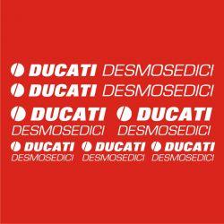 Ducati Desmosedici Stickers - Planche Autocollants 54